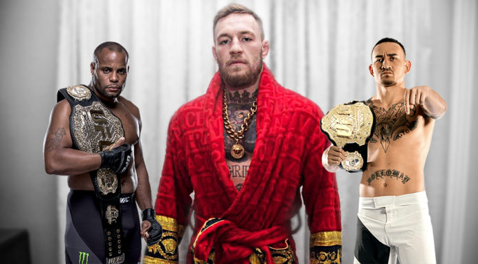 Cormier McGregor Holloway inthecage.pl