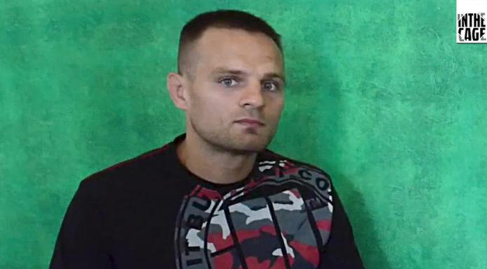 Damian Stasiak przed walką o być albo nie być na UFC w Hamburgu inthecage.pl