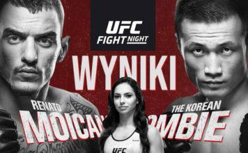 UFC wyniki