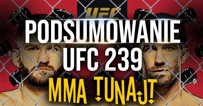 UFC 239 podsumowanie błachowicz rockhold