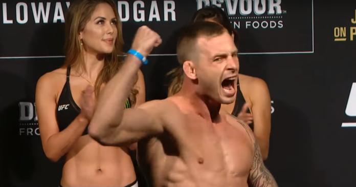 Krzysztof Jotko ważenie UFC 240