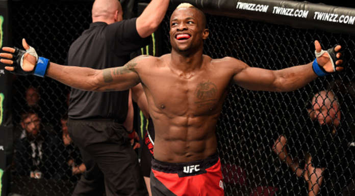 Marc Diakiesie UFC