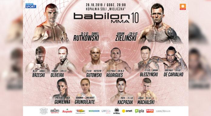 Babilon MMA 10 karta walk rozpiska