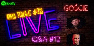 MMA TuNajt #213 LIVE Q&A #12 Jóźwiak Gwóźdź
